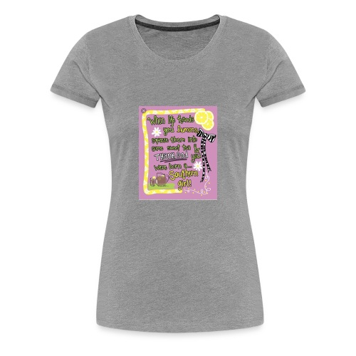 FBCC442A A487 40BF A45D EE536F423808 - Women's Premium T-Shirt