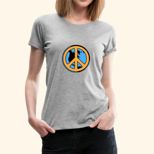 WorldPeace - Women's Premium T-Shirt