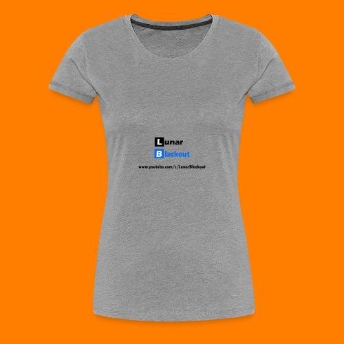 Lunar Shirt New Logo - Women's Premium T-Shirt