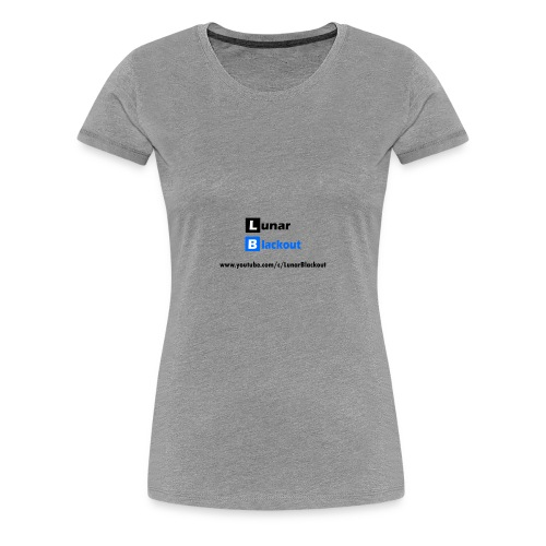 Lunar Shirt New Logo - Women's Premium T-Shirt