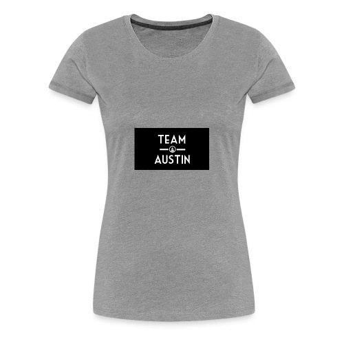 Team Austin Youtube Fan Base - Women's Premium T-Shirt