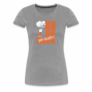 Black on Black Rhyme Tampa #1 - Women's Premium T-Shirt