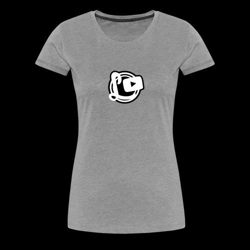 Logotipos Canal Leozzz 2 - Women's Premium T-Shirt