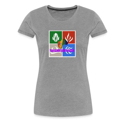 Team element gaming channel - Women's Premium T-Shirt