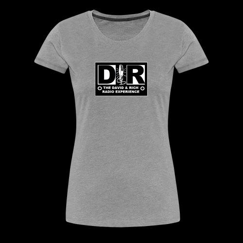 DAVERICHLOGOBLACK1 - Women's Premium T-Shirt