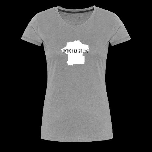 Fergus County, Montana - Women's Premium T-Shirt
