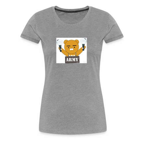 bts bear - Women's Premium T-Shirt