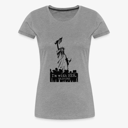 CA Liberty - Women's Premium T-Shirt
