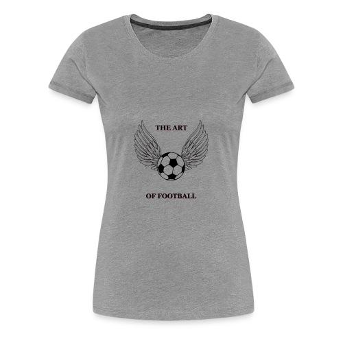 FOOTBALL T SHIRT - Women's Premium T-Shirt