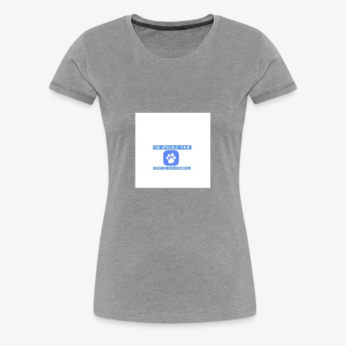 upscale logo airbrush - Women's Premium T-Shirt