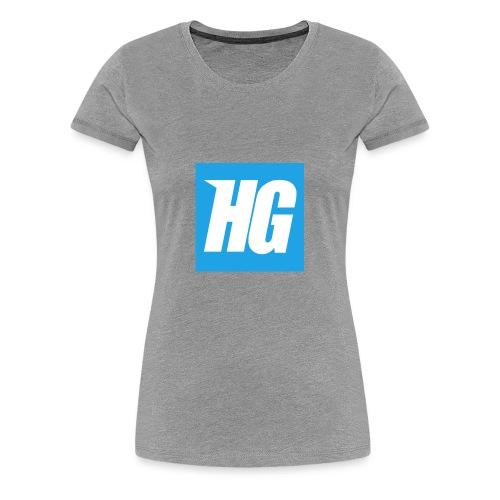 Hardcoregamer - Women's Premium T-Shirt