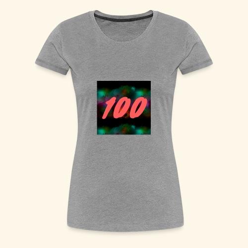 100 Views - Women's Premium T-Shirt