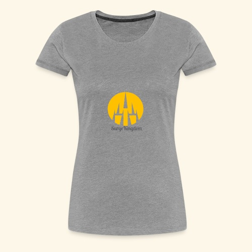 Surge Kingdom Castle - Women's Premium T-Shirt