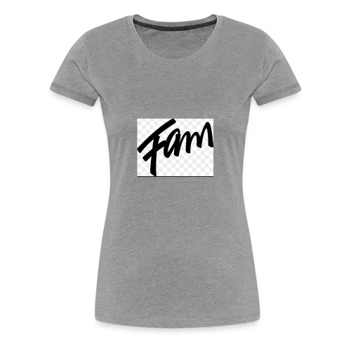 Fam - Women's Premium T-Shirt