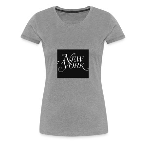 New york logo - Women's Premium T-Shirt