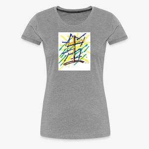 Criss Cross - Women's Premium T-Shirt
