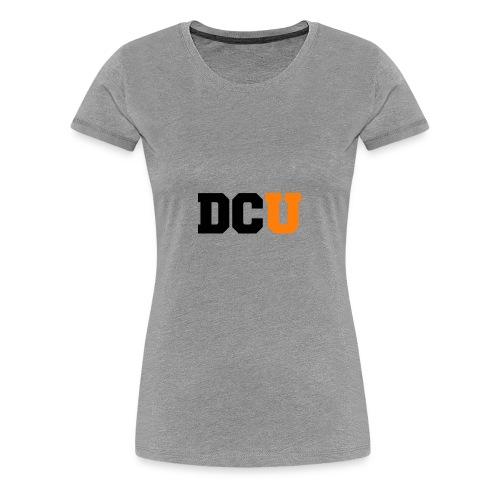 DCU Logo - Women's Premium T-Shirt