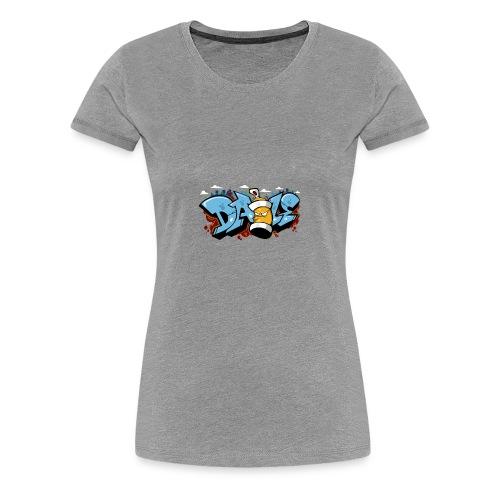 Graffiti art, Hip-Hop Style, Street Wear - Women's Premium T-Shirt