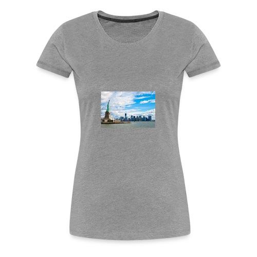 New York Skyline - Women's Premium T-Shirt