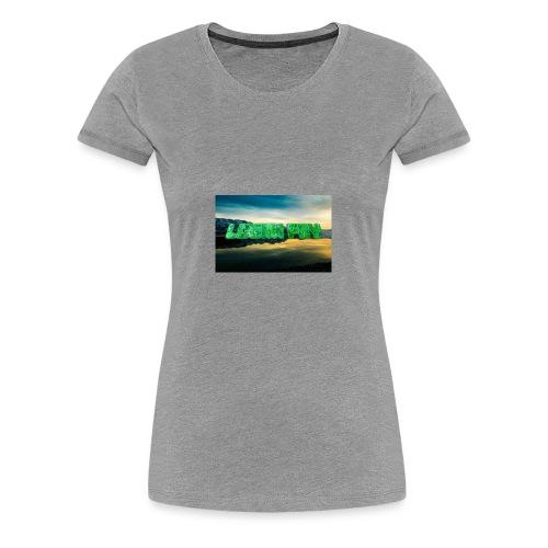 Logan Fry Logo - Women's Premium T-Shirt