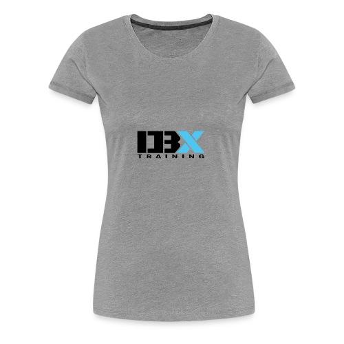 DB X Training logo PNG - Women's Premium T-Shirt