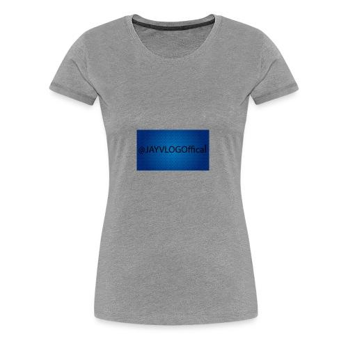 JAYVLOGOffical - Women's Premium T-Shirt