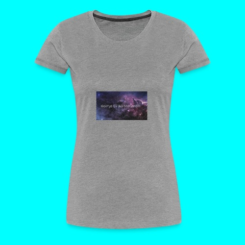 Banner_YT_- - Women's Premium T-Shirt