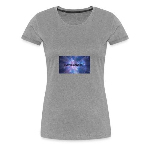 Flippin Gymnast - Women's Premium T-Shirt