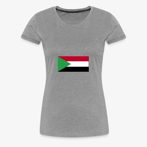 Sudan flag - Women's Premium T-Shirt