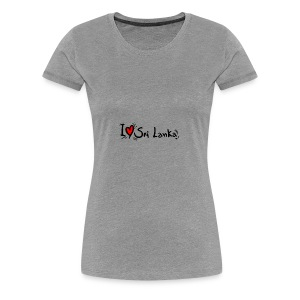 I love Sri Lanka tees - Women's Premium T-Shirt