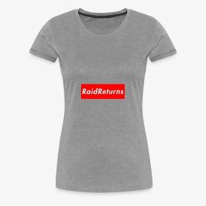 Raid Returns Bogo - Women's Premium T-Shirt