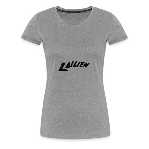 LOGOTEXT_A_Lailien - Women's Premium T-Shirt