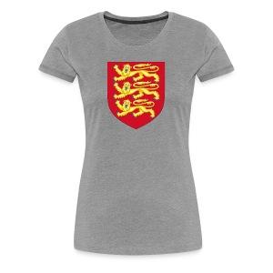 Royal Arms of England - Women's Premium T-Shirt