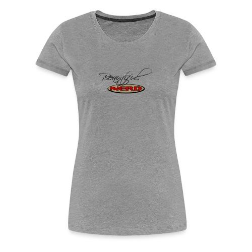 beautiful nerd - Women's Premium T-Shirt