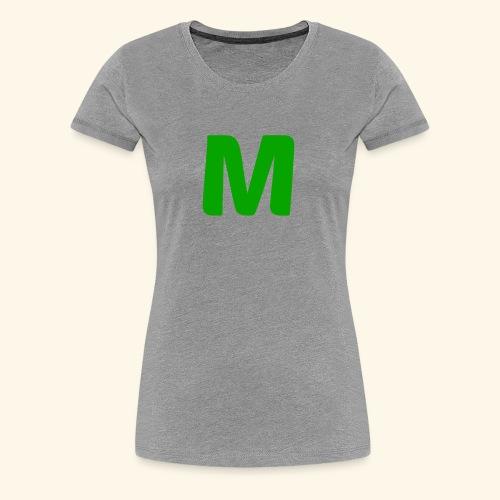 Minicrusher Green M - Women's Premium T-Shirt