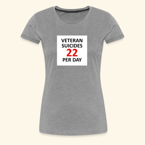 22 per day - Women's Premium T-Shirt