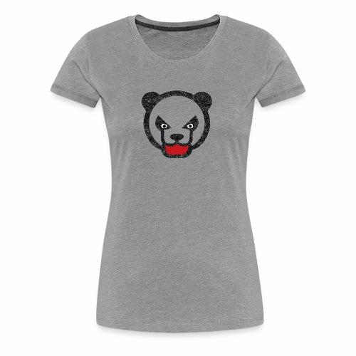 Mad panda bear - Women's Premium T-Shirt