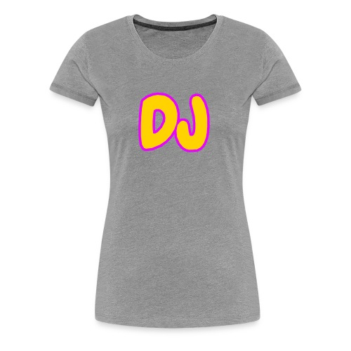 DJMERCH10 - Women's Premium T-Shirt