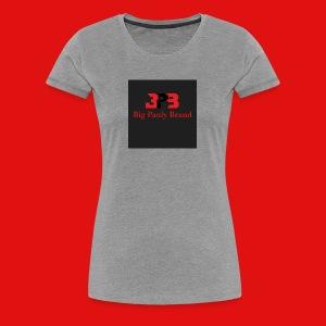 Big Pauly Brand Red Print With Logo - Women's Premium T-Shirt