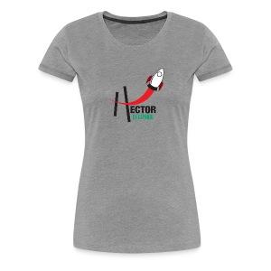 Playera HectorES Logo a Color - Women's Premium T-Shirt