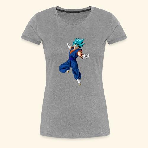 Vegito super saiyan blue - Women's Premium T-Shirt