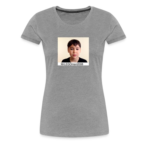 MrLEGOman2008 Face - Women's Premium T-Shirt