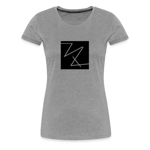 classic logo (black) - Women's Premium T-Shirt