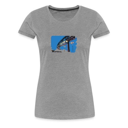 Schwebebahn,Wuppertal - Women's Premium T-Shirt