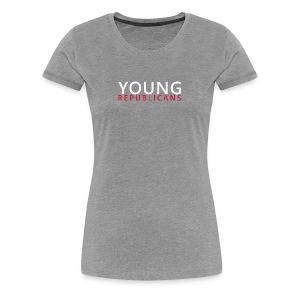 Full Text Horizontal Young Republicans - Women's Premium T-Shirt
