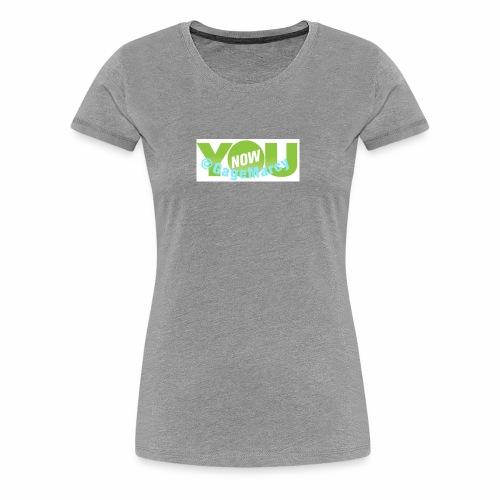 Younow logo - Women's Premium T-Shirt