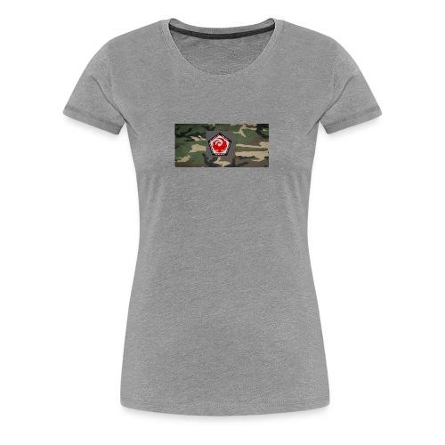 Paradox Core camo logo - Women's Premium T-Shirt