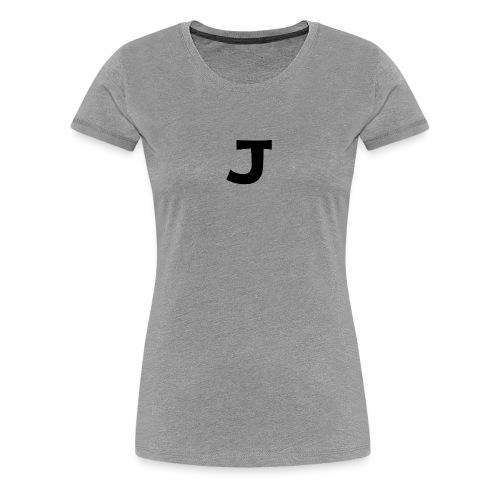 J - Women's Premium T-Shirt
