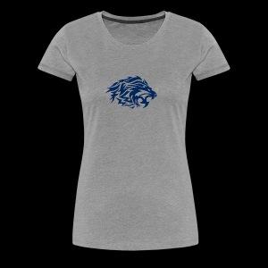 lion blue - Women's Premium T-Shirt