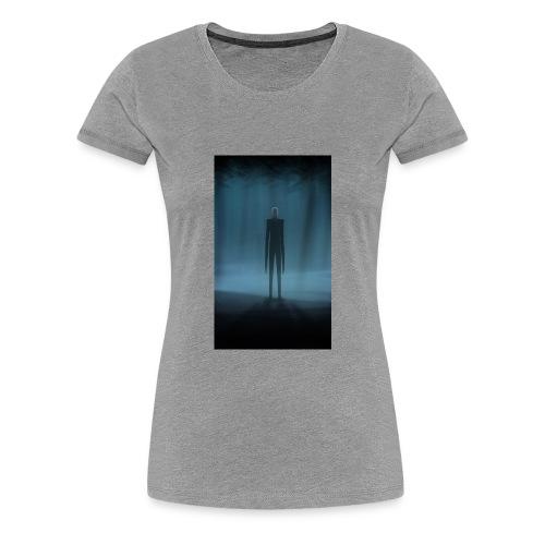 Creepy Forest Person - Women's Premium T-Shirt